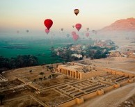 Hot Air Balloon Ride in Luxor - Egypt