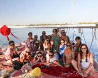 Pyramids & Nile Felucca Adventure Board Feluca Adventure Style